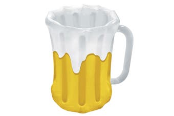 Beer Mug Oktoberfest Beach Party Costume Inflatable Beer Drinks Ice Cooler