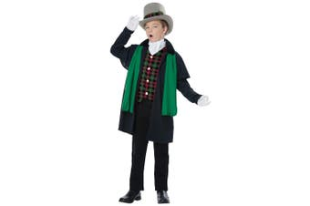Holiday Caroler Boy Christmas Victorian Olden Day Nativity Child Boys Costume