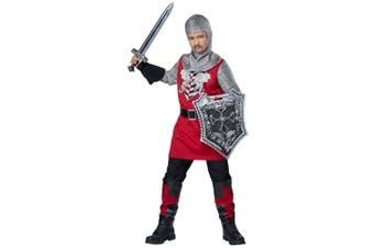 Brave Knight Medieval Renaissance Warrior Noble Book Week Boys Costume