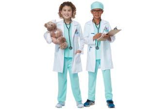 The Good Doctor Hospital Surgeon Medical Dress Up Girls Boys Costume