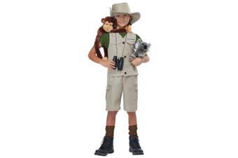 Wildlife Expert Archaeologist Park Ranger Zoo Keeper Child Girls Boys Costume