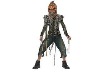 Pumpkin Creature Horror Monster Creepy Spooky Halloween Boys Costume