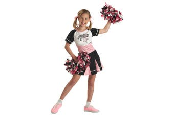 All Star Cheerleader Sport Dress Up Girls Costume