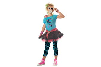 Valley Girl 80s Party Pop Star Katy Cindy Girls Costume