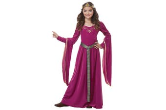 Medieval Princess Guinevere Renaissance Purple Game of Thrones Girls Costume