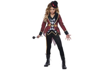 Ringmaster Ringmistress Circus Showgirl Lion Tamer Book Week Girls Costume