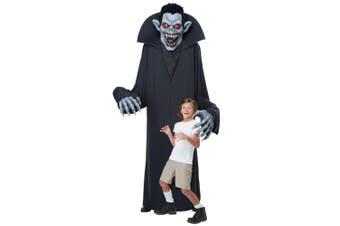 Towering Terror Vampire Giant Count Dracula Halloween Decoration Mens Costume