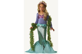 Lil Mermaid Princess Ariel Dress Up Infant Toddler Girl Costume
