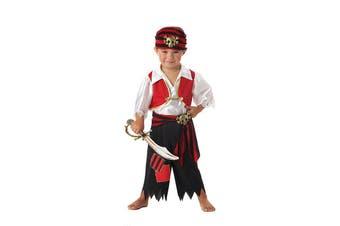 Ahoy Matey Pirate Captain Hook Caribbean Toddler Book Week Boys Costume