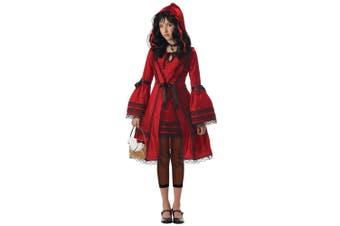Red Riding Hood Big Bad Wolf Fairytale Story Book Week Tween Girls Costume