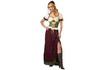 Renaissance Wench Medieval Beer Maid Tavern Oktoberfest Woman Costume