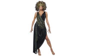 Sedusa Medusa Greek Mythology Mythical Serpent Monster Ancient Womens Costume