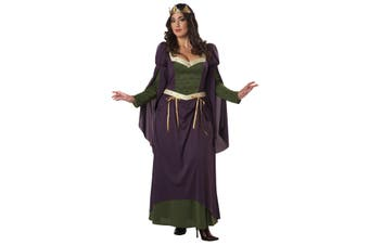 Lady In Waiting Nobel Renaissance Medieval Women Costume Plus