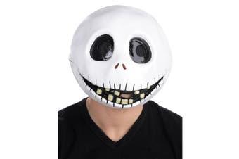 Jack Skellington The Nightmare Before Christmas Men Costume Deluxe Overhead Mask