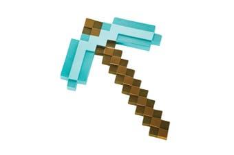 Pickaxe Diamond Pixel Minecraft Video Game Boys Girls Costume Weapon
