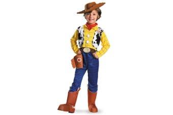 Woody Deluxe Disney Pixar Toy Story Book Week Fancy Dress Up Boys Costume