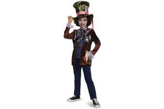 Mad Hatter Classic Alice In Wonderland Disney Story Book Week Boys Costume