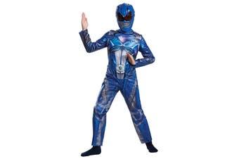 Blue Ranger Movie Classic Saban's Power Rangers Superhero Boys Costume