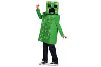Creeper Mojan Minecraft Hostile Mobs Video Game Fancy Dress Up Boys Costume