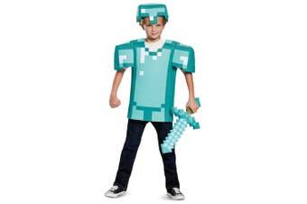 Armor Mojan Minecraft Object Tiers Video Game Fancy Dress Up Boys Costume