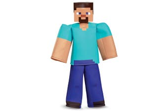 Steve Prestige Deluxe Mojan Minecraft Player Video Game Book Week Boys Costume