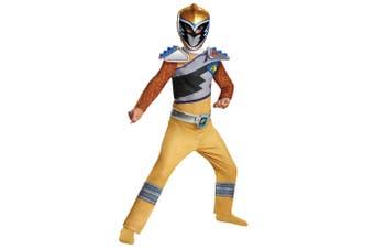 Gold Ranger Saban's Power Rangers Dino Charge Superhero Child Boys Costume