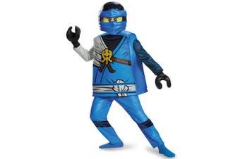 Jay Deluxe Lego Ninjago Master of Spinjitzu Child Dress Up Boys Costume