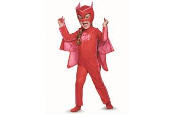Owlette Classic Red PJ Masks Pjmasks Superhero Dress Up Girls Costume S