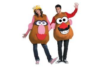 Mr Potato Head Mrs Deluxe Licensed Cartoon Toys Story Women Men Costume XL