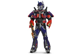 Optimus Prime Theatrical Quality Transformers Movie Superhero Mens Costume XL
