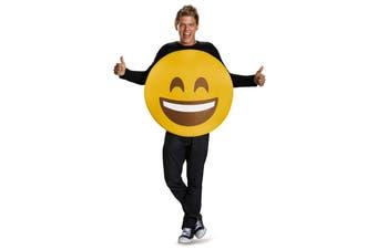 Smile Wink Emoticons Smiling Face Smiley Emoji Unisex Womens Mens Costume