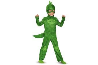 Gekko Classic Green PJ Masks Pjmasks Superhero Toddler Boys Costume
