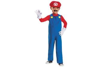 Mario Deluxe Nintendo Super Mario Bros Video Game Plumber Toddler Boys Costume
