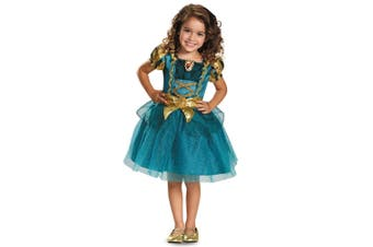 Merida Classic Brave Princess Disney Book Week Toddler Girls Costume