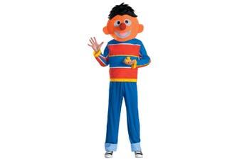 Ernie Sesame Street Orange Muppet Children TV Shows Teen Boys Mens Costume M