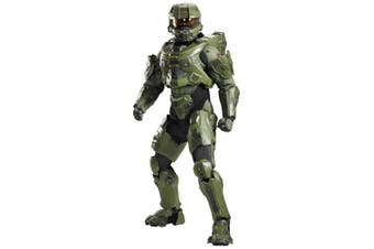 Master Chief Ultra Prestige Halo Game Teen Boys Mens Costume and Light Up Helmet