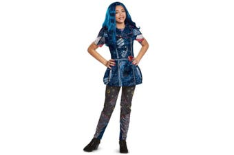 Evie Classic Isle Look Disney Descendants 2 TV Book Week Tween Girls Costume XL