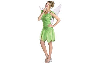 Tinker Bell Tinkebell Fairy Disney Fairies Story Book Week Women Costume L 12-14