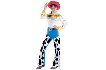 Jessie Deluxe Disney Pixar Toy Story Yodeling Cowgirl Rodeo Womens Costume