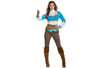 Zelda Breath Of The Wild The Legend of Zelda Video Game Adult Womens Costume