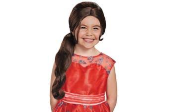 Elena Adventure Princess of Avalor Disney Book Week Girls Costume Wig