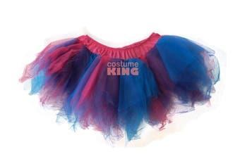 Blue Purple Pink Fairy Hen Night Skirts Tutu Petticoat 8 - 12