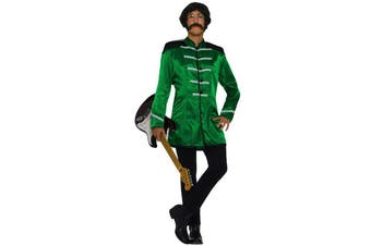 British Beatles 60s Green Jacket Men Costume STD