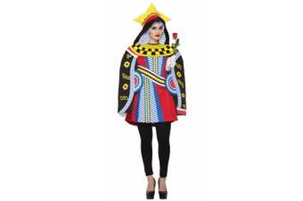 Queen Of Hearts Playing Card Poker Alice In Wonderland Book Week Women Costume