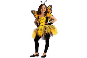 Ballerina Butterfly Fairy Pixie Sprite Dress Up Girl Costume