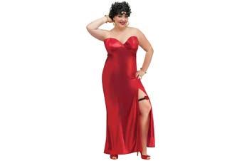 Betty Boop Jazz Flapper 50s Women Costume Plus