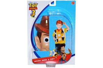 Woody Toy Story 3 Licensed Basic Boys Costume 3 - 8 Yrs