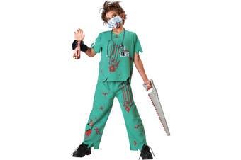 Doctor Sane Mad Surgeon Evil Halloween Boys Costume