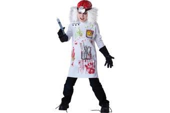 Mad Scientist Crazy Inventor Professor Dress Up Boys Costume