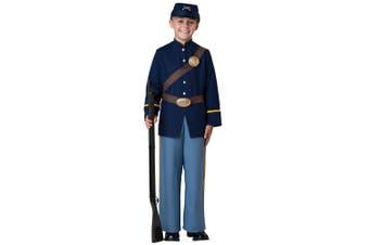Civil War Soldier American Union Army Hero Boys Costume